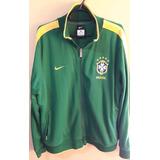Jaqueta Seleção Brasileira Nike N98 - Verde - Tamanho Gg f06931aa3d2b2