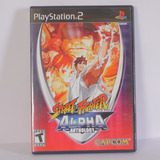 Street Figther Alpha Antology - Playstation 2 Ps2