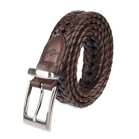 Dockers Cinturon Con Logotipo Metalico Trenzado Con Cordones
