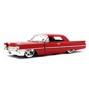 Cadillac 1963 Vermelho 1/24 Jada Toys Big Time Kustoms