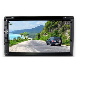 Central Multimídia Tv Digital Gps Câmera De Ré Bluetooth Esp