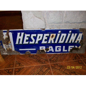 Hesperidina Bagley , Cartel Enlozado