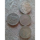 Pack De 4.. 25 Centavos Guatemaltecos De Año 1979 Entre 2000