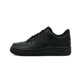 the best attitude 87f18 1c564 Zapatillas Nike Air Force 1 Negro Niño