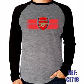 f1a0c9987e Camisa Arsenal Treino Manga Longa - Camisetas e Blusas no Mercado ...