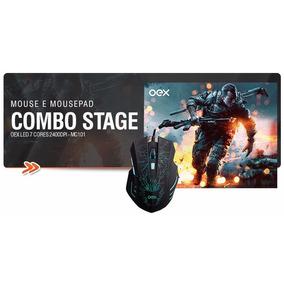 Mouse Com Mousepad Combo Stage Mc-100