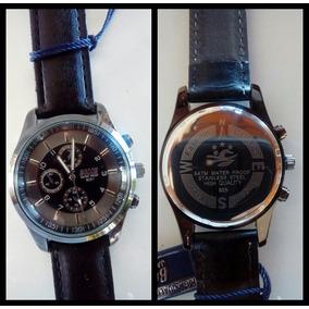 Relógio Bosck De Luxo Preto (a Prova D
