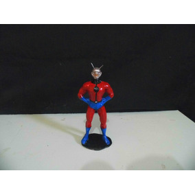 Miniatura Do Deadpool E Do Homem Formiga Em Resina Com 15 Cm
