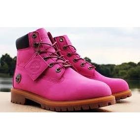 a48c0c2bb6f Botas Timberland De Color Rosa De Mujer Bfn - Ropa