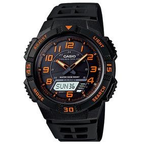 84376115e84 Relógio Casio Aq S800w 1bv Energia Solar Analógico Digital ...