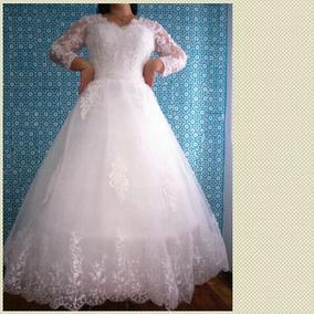 Vestido De Noiva Princesa Divas Com Anaguá - Barato
