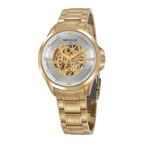Relogio Automatico Masculino - Relógio Seculus Masculino no Mercado ... a1e3df87e5