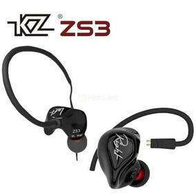 Fone In-ear Kz Zs3 Retorno/monitor De Palco + Case
