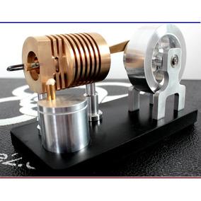 Motor Stirling Projeto Comedor De Fogo - Envio Gratis