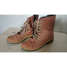 aac366862b9 Botas Para Mujer Camel Marron Borcegos - Zapatos en Mercado Libre ...