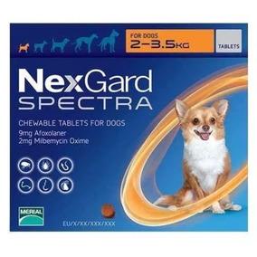 Nexgard Spectra De 2 A 3.5kg Para Pulgas Y Garrapatas