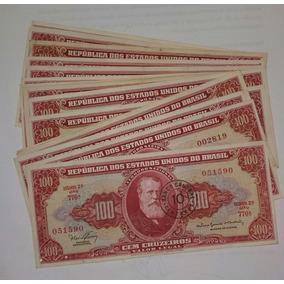 Cédula De 100 Cruzeiros D. Pedro Ii