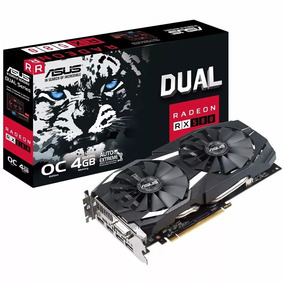 Placa De Video Asus Rx 580 4gb Oc Edition Dual - Rx580 4gb