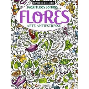 Livro De Colorir - Jardim Dos Sonhos Especial