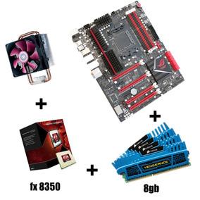Kit Amd Fx8350 +placa Mãe Asus Formula +8gb A Vista 1499.99