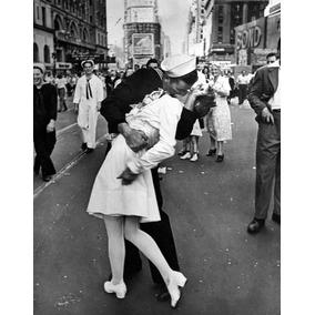 Poster O Beijo Da Times Square Fotografias Da História