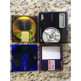 Mini Disc Sony Hi Md + 3 Discos