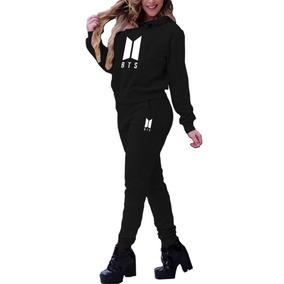 Blusa Moletom + Calça Bts Kpop Bt21 Army Musica Top !!!!