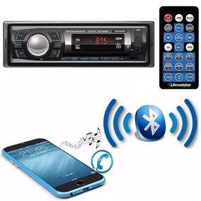 Auto Radio Roadstar Bluetooth Fm Usb Sd Controle Top 7 Cores