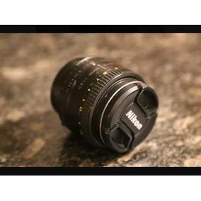 Lente Nikon 50mm Af 1:1.8d Autoenfoque