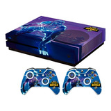 Skin Fortnite Galaxy Para Xbox One S Set Stickers