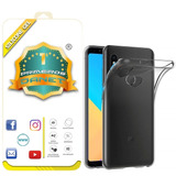 Capa Capinha Ultra Fina Redmi Note 5 / Pro + Película De Gel