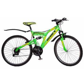 Bicicleta Bimex Montaña Crazy Bufalo R-26 / 18 Velocidades
