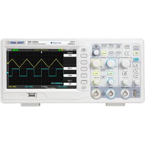 Osciloscopio Digital Sds1052dl+ Siglent 50 Mhz,logicbus