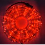 Manguera Led Color Rojo 10 Metros Decoración Navidad