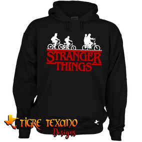 Sudadera Series Stranger Things Mod 02 Tigre Texano Designs