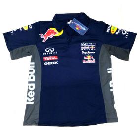 Blusa Blusinha Feminina Red Bull Infiniti Baby Look 311f226142e
