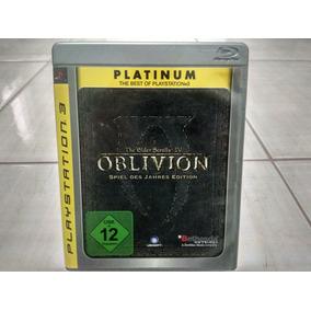 The Elder Scrolls 4 Oblivion Ps3 Usado Frete Cr 12,00