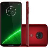 Smartphone Motorola Moto G7 Plus 64gb Dual Chip Rubi