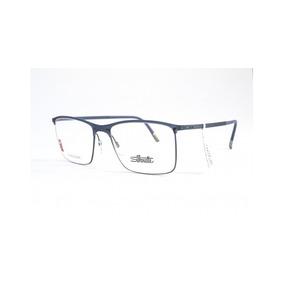 3cf602f05ca4a Óculos De Grau Silhouette 2903 40 6054 Acetato Masculino
