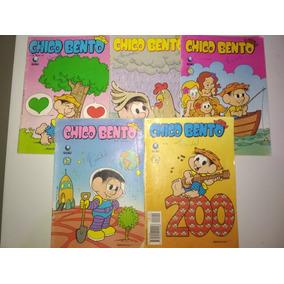 Gibi - Lote 05 Com 05 Gibis Chico Bento