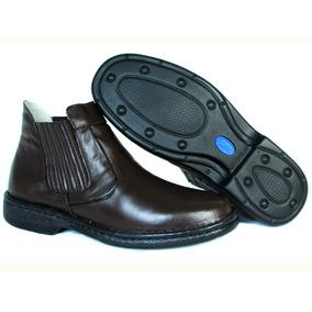 Sapato Bota Bretão Boots - Linha Antistress Com Frete Grátis 1bfd3d7949