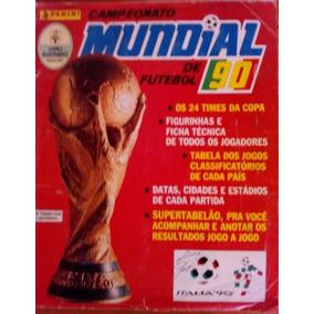 Album Copa Do Mundo De 1990 - Completo - Todo Original