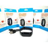 Relógio M3 My Bracelet Monitor Cardíaco Smartband
