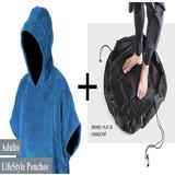 Poncho Roupão + Wet Bag Saco De Surf + Frete Grátis Promoção afd05f5338384