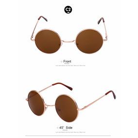 Ovulos De Sol Redondo Marrom Estilo Antigo - Óculos no Mercado Livre ... 58c6e5281d