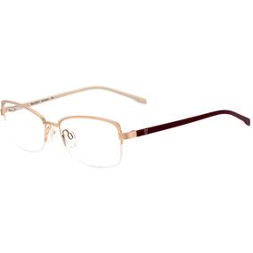 79dd015997367 Bulget Bg 1510 - Óculos De Grau 04as Dourado Fosco E Vinho