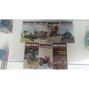Kit 7 Revistas Pôster Motos Inesquecíveis Motor Extra
