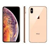 iPhone Xs Max Dourado 64 Gb 4g