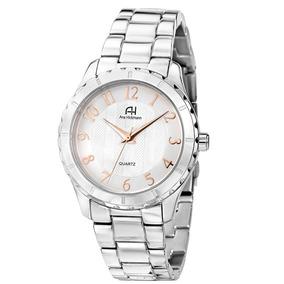 bcf4f43d2ea Relógio Feminino Analógico Ana Hickmann Ah28026q Prata - Relógios De ...
