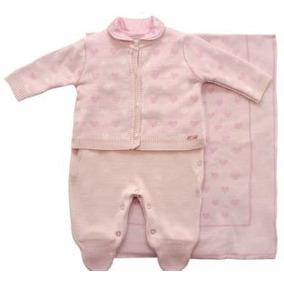 Saída Maternidade Noruega 3 Peças Em Linha Vom Corações 9ff3736a61e